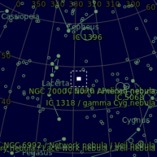 IC 5146 Nebulosa Bozzolo o Cocoon Nebula | Avogadro Observatory